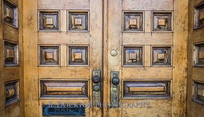 doorway, Hudson NY