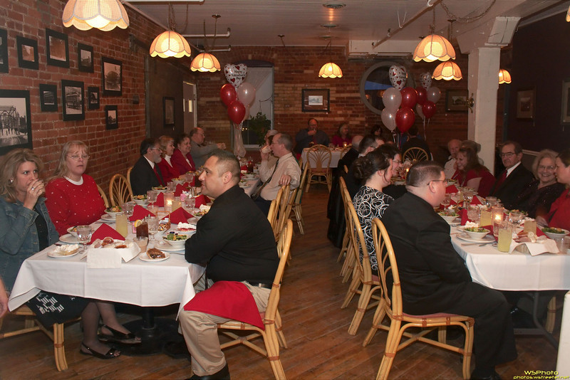"""""""Be My Valentine"""" - A photo from our church Valentine's banquet."""