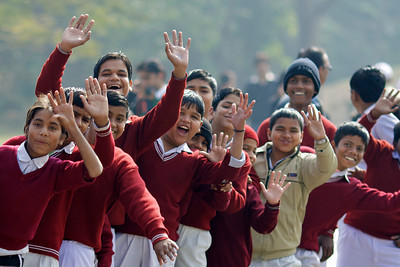 Schoolkids - Delhi, India