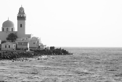 Mosque at Red Sea – Jeddah, Saudi Arabia