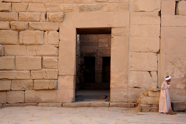Doorway, Karnak Temple – Luxor, Egypt