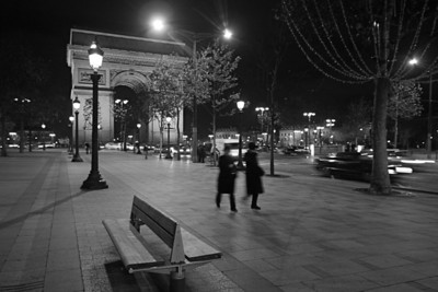 Champs-Élysées by Arc de Triomphe – Paris, France