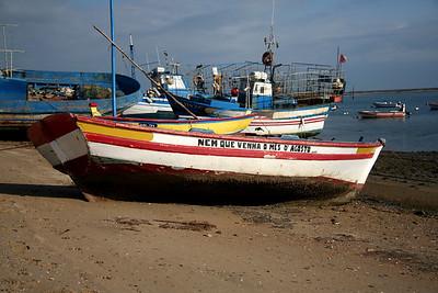 Santa Luzia harbor – Tavira, Portugal