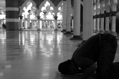 Prayer Hall, Masjid Jamek - Kuala Lumpur, Malaysia