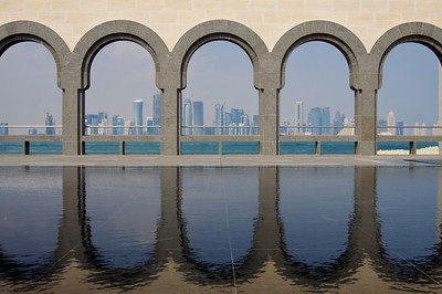 Downtown skyline from Museum of Islamic Art – Doha, Qatar