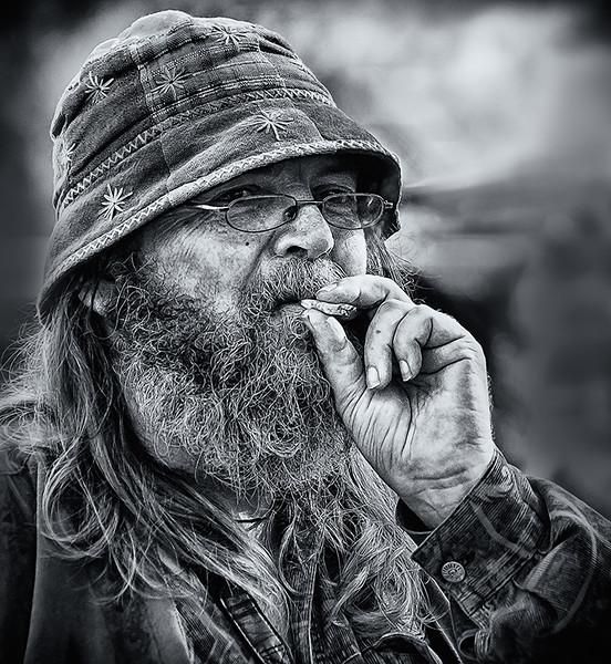 Street Portrait, Nimbin