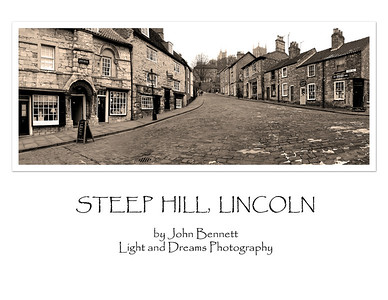 "Steep Hill, voted ""the greatest street in Britain"" 2012"
