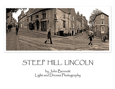"Steep Hill, voted the ""greatest street in Britain"" 2012"
