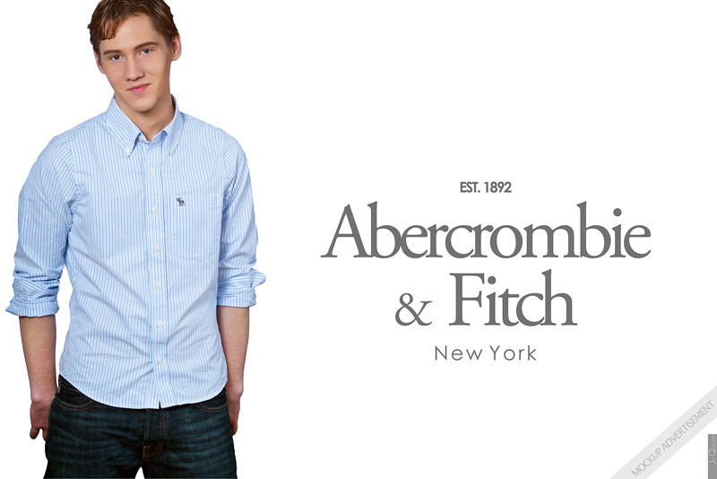Abercrombie & Fitch Advertisement (mockup)