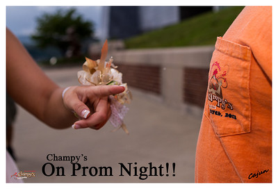 Can you guess who is wearing the Champy's T-Shirt??? I was walking around Downtown Chattanooga shooting prom pics when I ran into a friend from Champy's Famous Fried Chicken in Chattanooga, Tn. Tori's Prom Night Saturday May, 11th, 2013. Photography By Lloyd R. Kenney III ©2013 All Rights Reserved. Photographers Contact Email is: LLoydKenneyiii@gmail.com