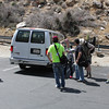 Unloading at the Palm Springs Aerial Tramway.