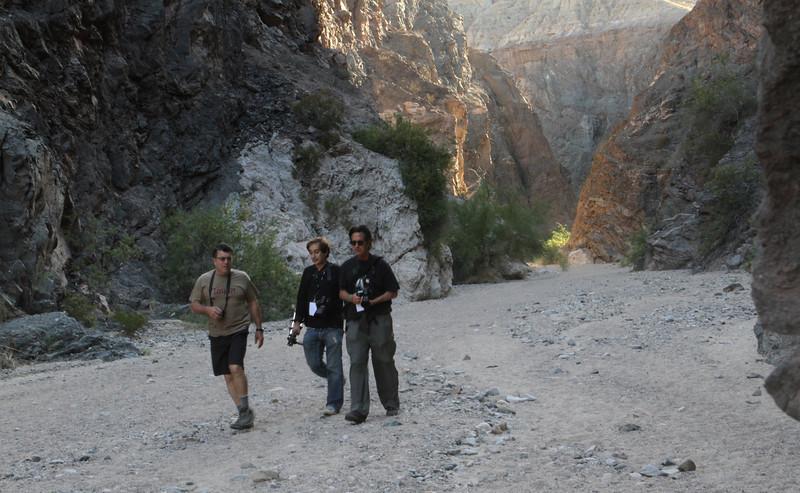 Andy Katz (L), Mark Bown (Center) and John Henebry (R)