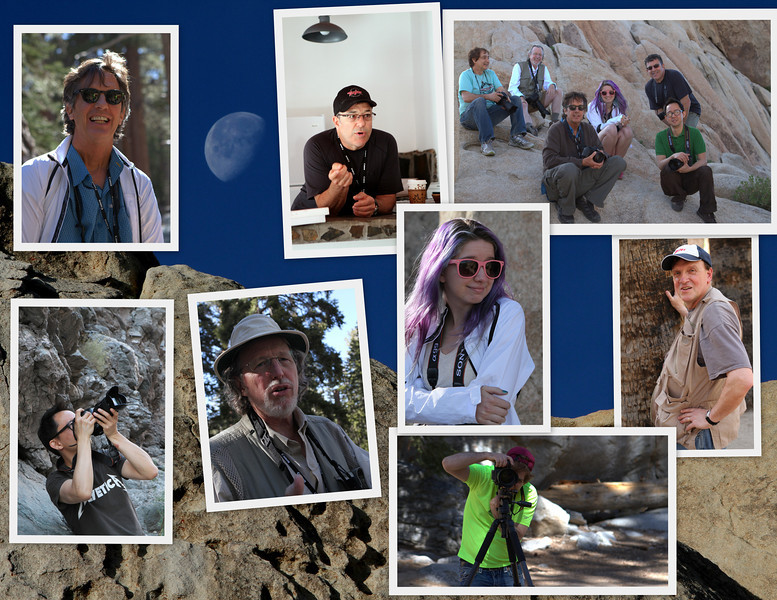 Meet the 2013 Color in the Landscape: Andy Katz photography workshop group.