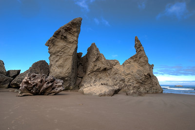 Bandon Beach Rocks 1