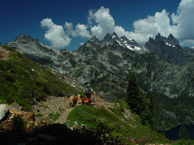 Pacific Crest Trail, Washington, Photos.