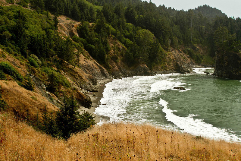 Late summer on the southern Oregon coast.<br /> Photo © Cindy Clark