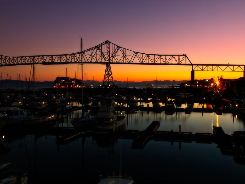 Good morning, Astoria!<br /> Photo © Cindy Clark