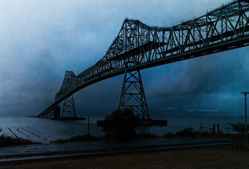 Late October evening in Astoria.<br />  © Cindy Clark