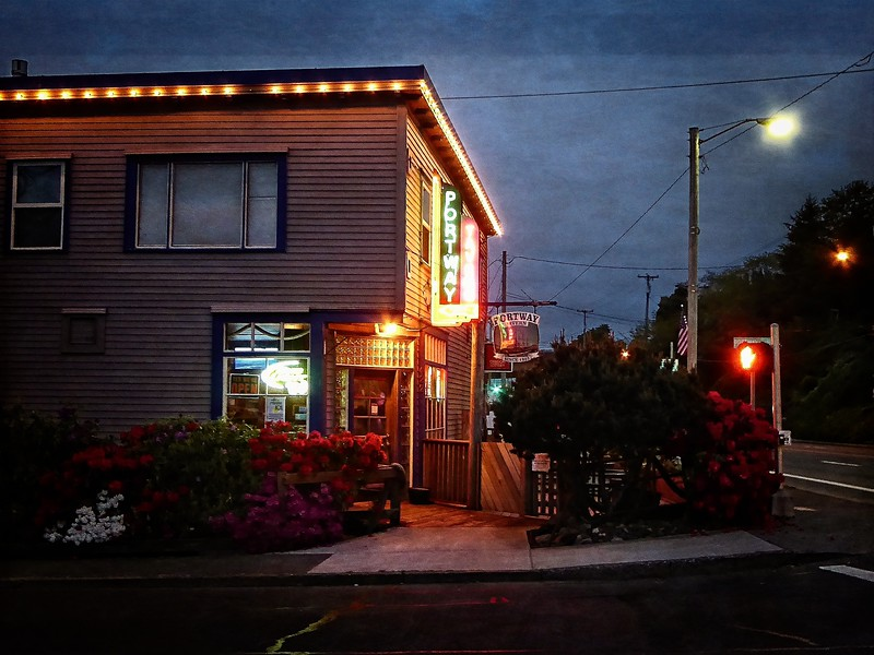 This is the Portway Tavern in Astoria, Oregon.<br /> Photo © Cindy Clark