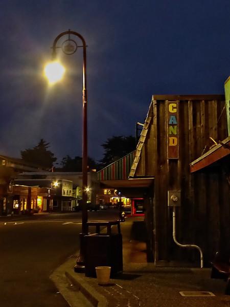 Downtown Bandon, Oregon.<br /> Photo © Cindy Clark