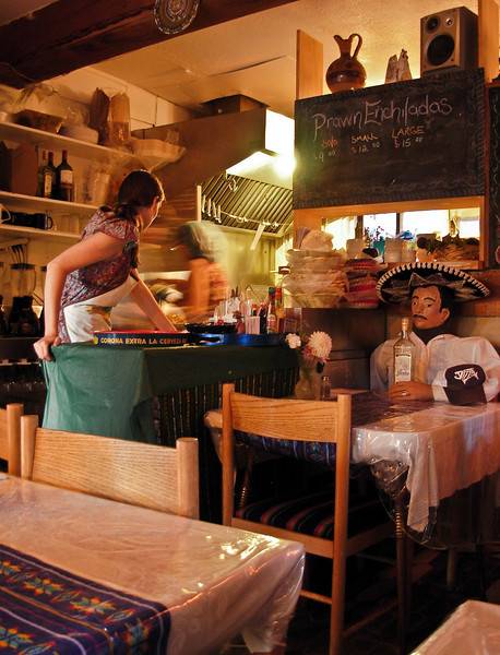Can you get good Mexican food on the Sunshine Coast, B.C.?  Si!!<br /> La Casita, Powell River.<br /> Photo © Cindy Clark