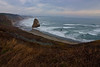 A rare calm day at Cape Blanco - Oregon Coast.<br /> Photo © Carl Clark