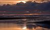 Sunset near Pacific Beach, Washington.<br /> Photo © Cindy Clark