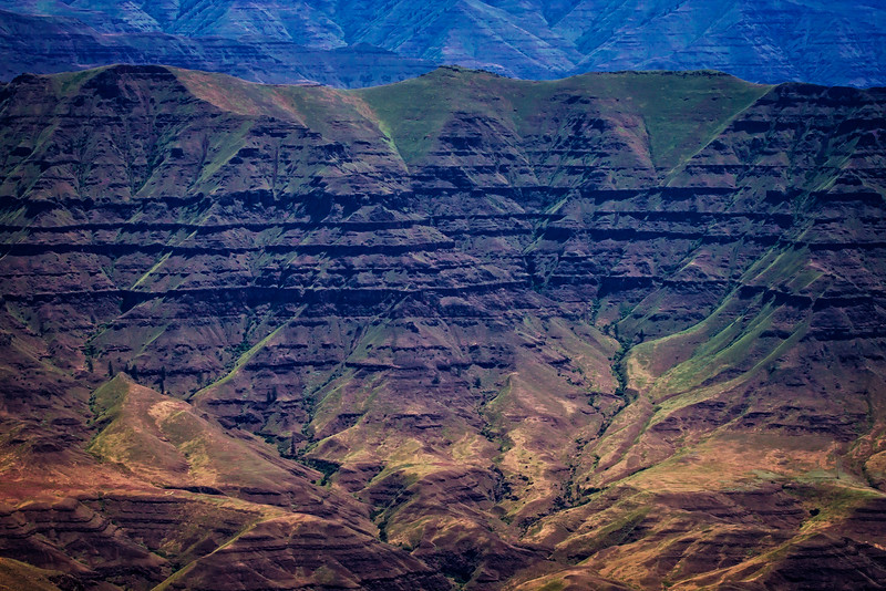 Dramatic walls of Hell's Canyon.<br /> Photo © Cindy Clark