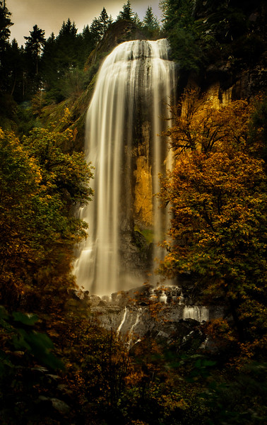 Golden Falls, located in Golden & Silver Falls State Park, Oregon. Definitely worth the long drive east of Coos Bay!<br /> Photo © Cindy Clark
