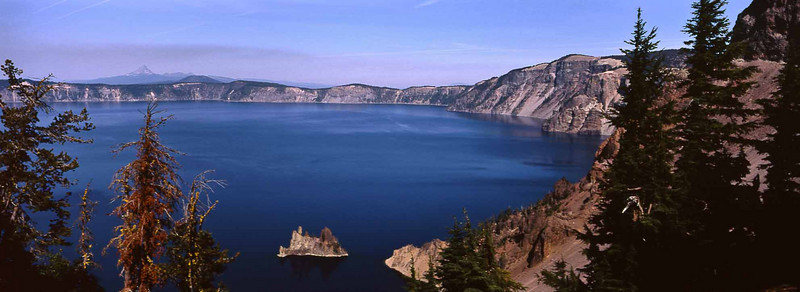 A perfect day at Crater Lake, Oregon.<br /> Photo © Carl Clark