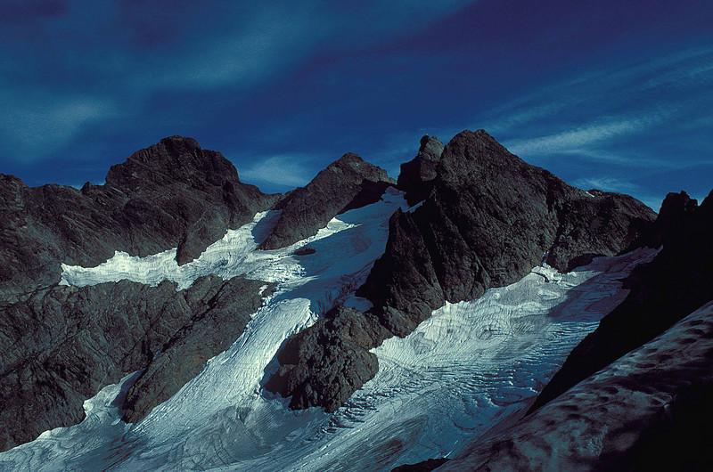 Three Fingers mountain - Washington Cascades.<br /> Photo © Carl Clark