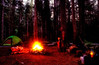 Camp Comfort on the LaBohn Gap trail - Washington Cascades.<br /> Photo © Carl Clark