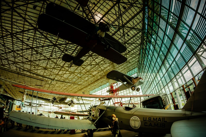 I highly recommend a visit to the Museum of Flight at Boeing Field.<br /> Photo © Cindy Clark
