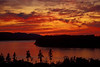 Can't help bragging - the view from our place in Mukilteo at sunset.<br /> Photo © Cindy Clark