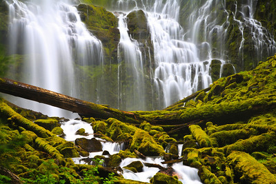 Lower Proxy Falls - Willamette National Forest, Oregon 威拉米特國家森林公園,俄勒岡州 Please visit: http://www.youtube.com/user/photosbychunming?feature=mhum  for my video journey.