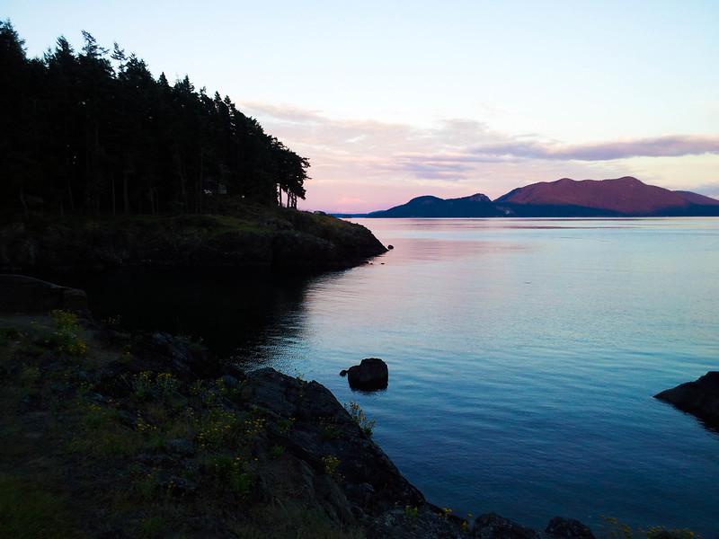Doe Bay sunset