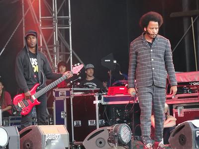 Concert de The Coup à Paléo, samedi 26 juillet 2014, Les Arches