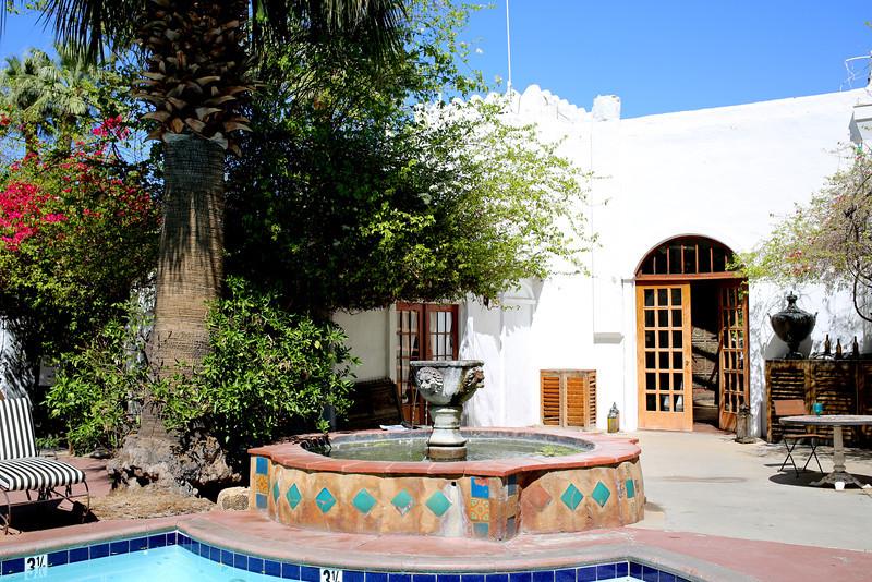 Korakia Pensione Inn in Palm Springs California