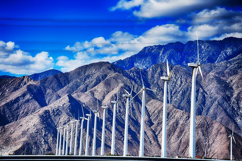 windmills Near Palm Springs California 2