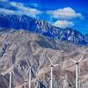Windmills Near Palm Springs California