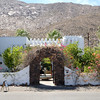 Entrance to the Korakia Inn in Palm Springs California