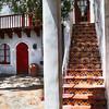 Tile Stairs at the Korakia Inn in Palml Springs California