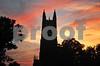 4th of July 2012 Duke Chapel Sunset PS