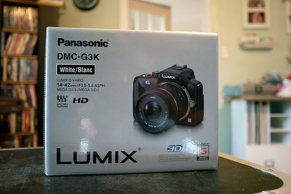 Panasonic G3 (white)