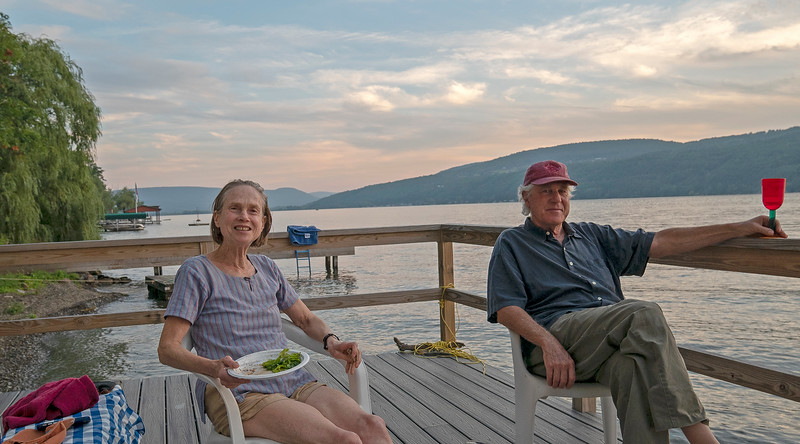 Annie and Paul on Canandaigua Lake 08/25/2018