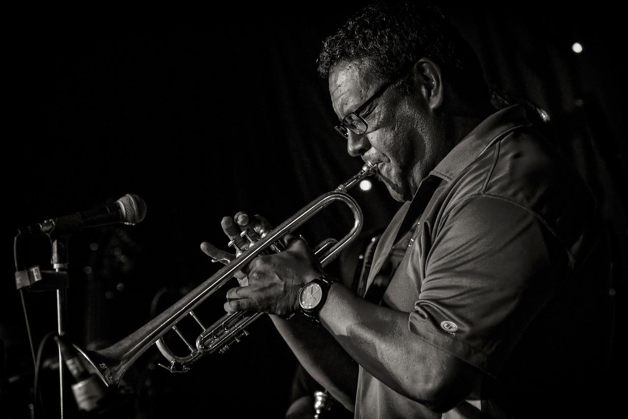 Frank Cano Latin Jazz B & W