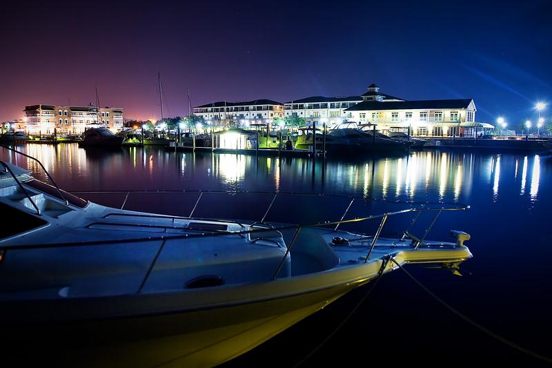Palafox Pier at Night