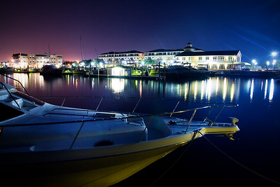 Palafox Pier at Night