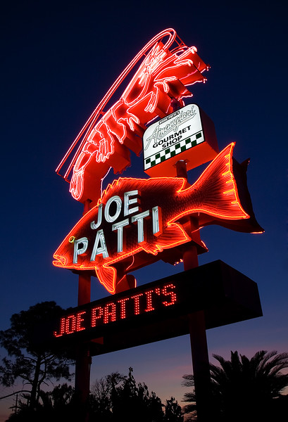 Joe Patti's at Night