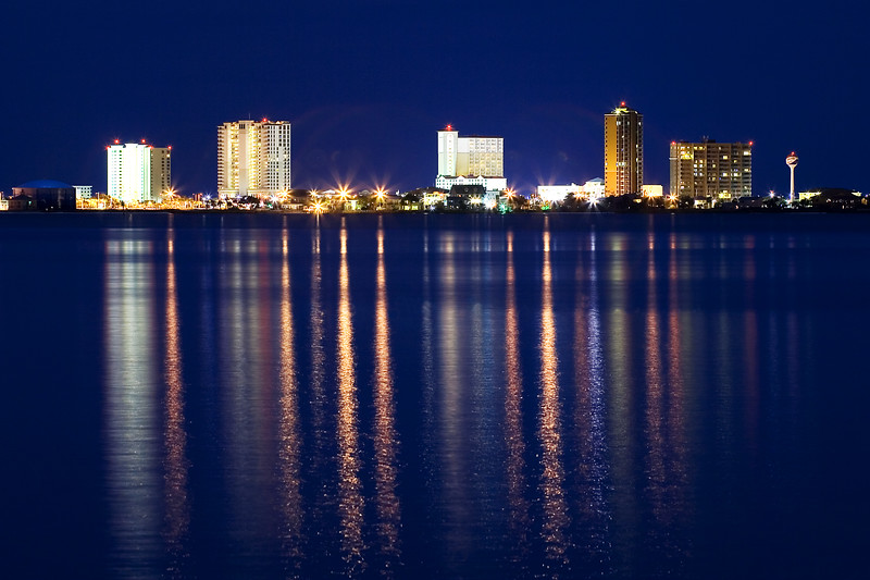 Pensacola Beach Skyline